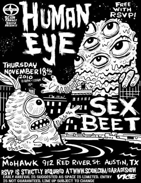 Human Eye, Sex Beet
