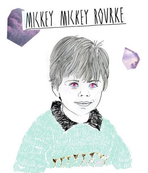 Mickey Mickey Rourke