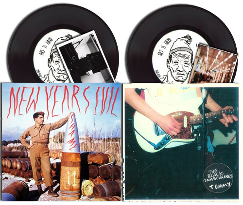The Black Tambourines/New Years Evil Split